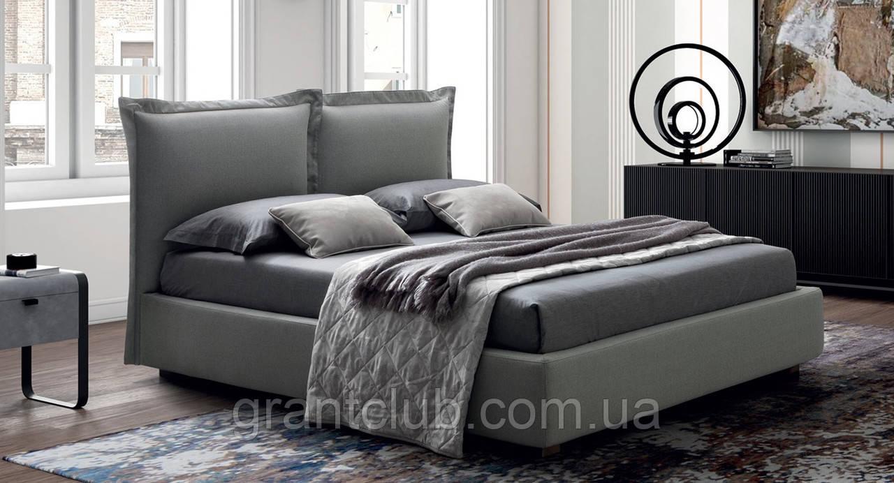Итальянская мягкая современная кровать CATLIN фабрика LeComfort