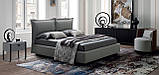 Итальянская мягкая современная кровать CATLIN фабрика LeComfort, фото 4