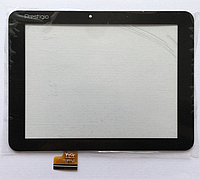 Оригинальный тачскрин / сенсор (сенсорное стекло) Prestigio MultiPad Ranger 8.0 4G PMT5287 (черный самоклейка), фото 1