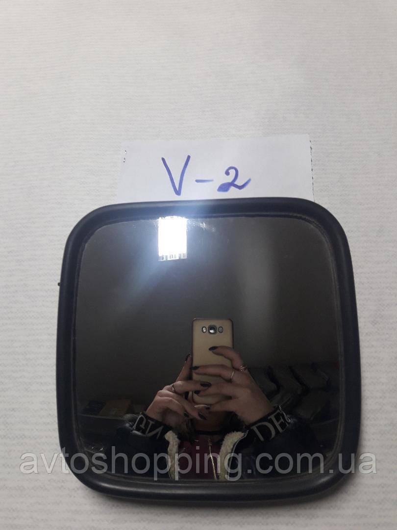 Зеркала боковые для грузовых авто V-2 , 18 см на 18 см. ДЛЯ Фуры, Автобус,Трактор, погрузчик