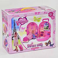 Кукольный игровой набор мебели 830, в коробке