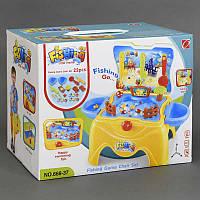 """Игрушка рыбалка 668-37 """"Водный Мир"""", стул-чемодан, музыкальная, свет, в коробке"""