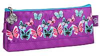 """Пенал мягкий на одно отделение """"Butterfly purple"""" YES 531820"""