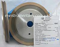 Алмазный круг для обработки стекла (14F6V)R3 150х18х12хR3х22  АС32 связка М-300