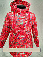 Куртка-парка для девочки,110-128, фото 1