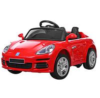 Детский электромобиль M 3446EBLR-3 Porsche, кожаное сиденье, красный ***