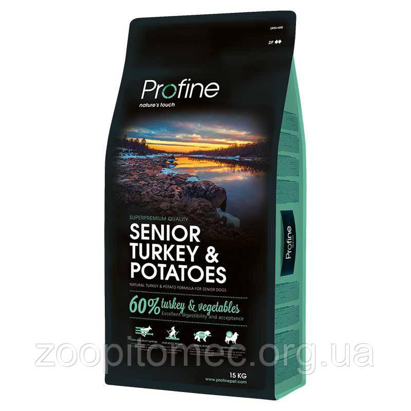 Profine (Профайн) Senior Turkey Корм для пожилых собак всех пород с индейкой, 3 кг