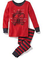 Детская трикотажная пижама Пожарная машина Old Navy для мальчика
