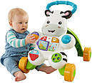 Детские ходунки толкатели Зебра Fisher-Price Learn with Me Zebra, фото 2