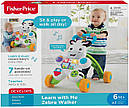 Детские ходунки толкатели Зебра Fisher-Price Learn with Me Zebra, фото 10