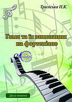 Гами та їх виконання на фортепіано, Триліська Н.К.