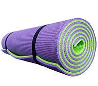 Коврик для йоги и фитнеса «Premium-9» 1800х600х9мм