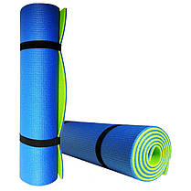 Коврик для йоги и фитнеса «Premium-9» 1800х600х9 мм, фото 3