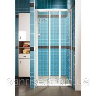 Душові двері RAVAK ASDP3-130 білий+grape 00VJ0102ZG