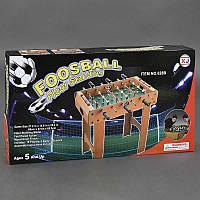 Футбол 628 В, деревянный, на штангах, в коробке