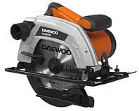 Пила циркулярная электрическая (1500 Вт) DAEWOO DAS 1500-190 (диск 190 мм, глубина пропила 45/90° - 44/65 мм, 4800 об/м, Регулировка угла наклона