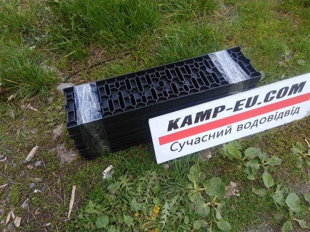 Водоотводные легкие решетки Камп