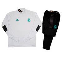 Детский костюм тренировочный Реал Мадрид белый