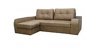 Угловой диван Garnitur.plus Элит бежевый 245 см