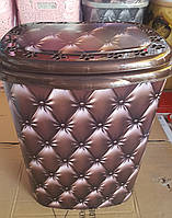 Корзина для белья прямоугольная, 53л, Elif Plastik, Турция