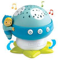 Музыкальный проектор Грибочек голубой Cotoons Smoby 110109 N
