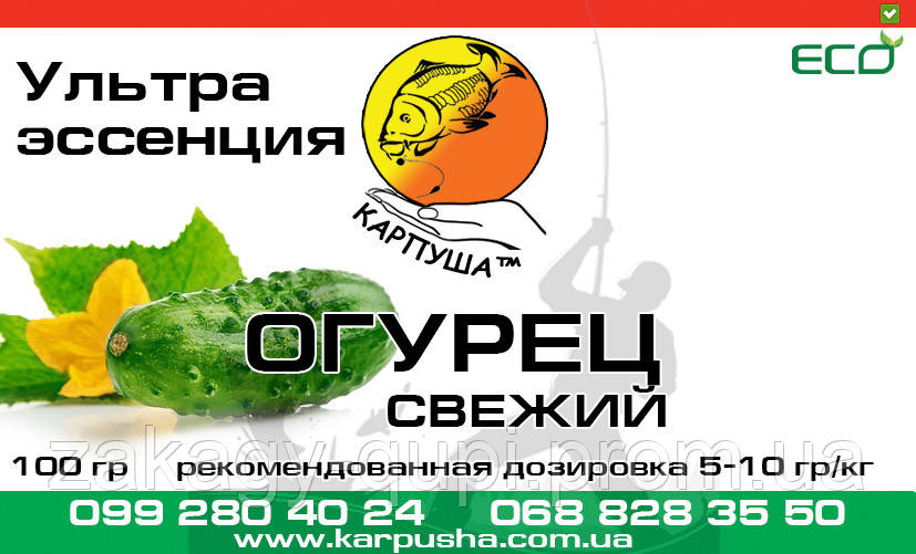 Ультра эссенция Огурец 100 гр (ароматизатор)