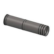 Труба-удлинитель из нержавеющей стали 0,5-1 метр AISI 304, фото 2