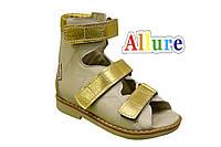 Ортопедические сандалии стелька ВП-2 ТМ «Allure»