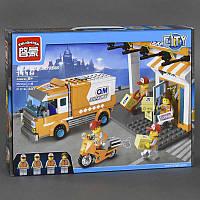"""Конструктор Brick 1119, """"Служба доставки"""", 337 деталей"""