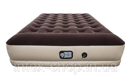 67574 BW Надувной матрас Comfy Single 203х152х38см со встроенным насосом на батарейках, фото 2