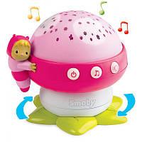 Музыкальный проектор Грибочек розовый Cotoons Smoby 110109R