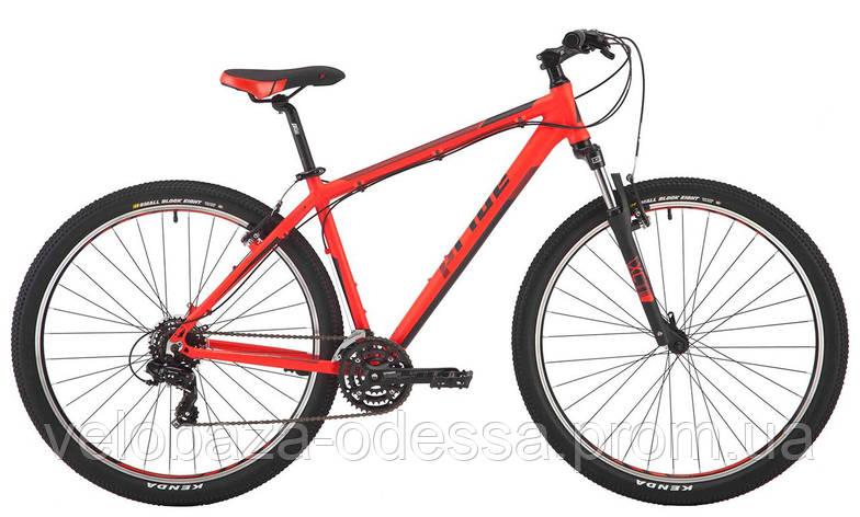 """Велосипед 29"""" Pride Rebel 9.1 рама - 19"""" красный/черный 2017, фото 2"""