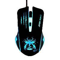 Игровая мышка с подсветкой 3200 cpi проводная светодиодная мышь
