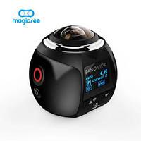Панорамная камера 360 градусов VR 2.7K Magicsee V1 Black