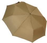 Женский складной зонт полуавтомат (золото)