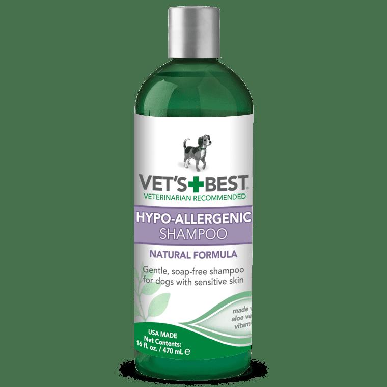 VET'S BEST Hypo-Allergenic Shampoo 470 мл - гипоаллергенный шампунь для собак с чувствительной кожей