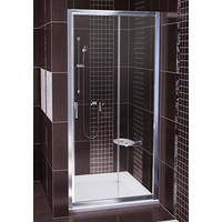 Душевая дверь RAVAK BLDP2-110 L/R полированный алюминий+transparent 0PVD0C00Z1