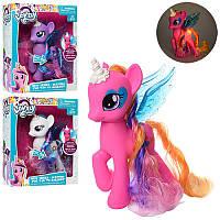 Игровой набор фигурка Литл Пони (my Little Pony) принцесса с крыльями 19 см, музыка, всет, 3 вида, 63833-1