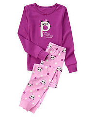 Пижама Пандочка принцесса с аппликацией и вышивкой   (Размер 6) Gymboree (США)