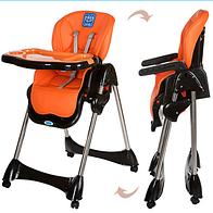 Стульчик для кормления BAMBI M 3216-7 оранжевый ***