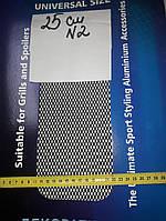 Сетка декоративная Sahler 100*25см Черная №2, СЕТКА Радиатора, сетка декоративная в Бампер