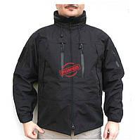 Непромокаемая куртка Mil-Tec BLACK SOFTSHELL JACKET PCU