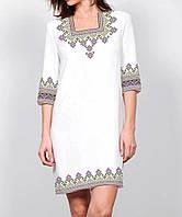 Заготовка жіночого плаття чи сукні для вишивки та вишивання бісером Бисерок  «Світанкове» Габардин ( be806a1e3e6ea