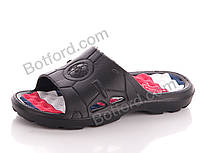 Шлепки Slippers 14031 черн. Пена. Мал. черный