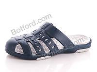 Шлепки Slippers 9001 сабо подр. Реалпакс синий синий