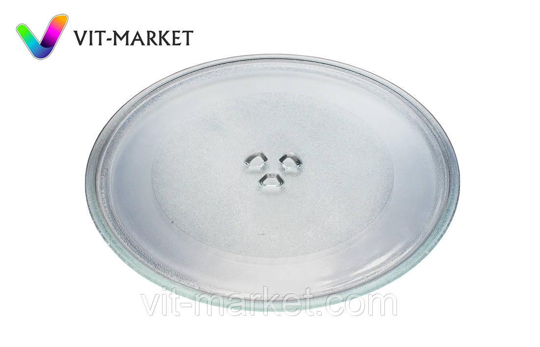 Универсальная стеклянная тарелка (поддон, блюдо) для микроволновки LG диаметр 324мм код 1B71961E