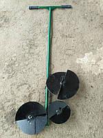 Бур ручной садовый (3 насадки)