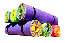 Коврик для йоги и фитнеса «Premium-10» 1800х600х10 мм, фото 2