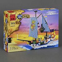 """Конструктор Brick 305, """"Пиратский корабль"""" 310 деталей"""