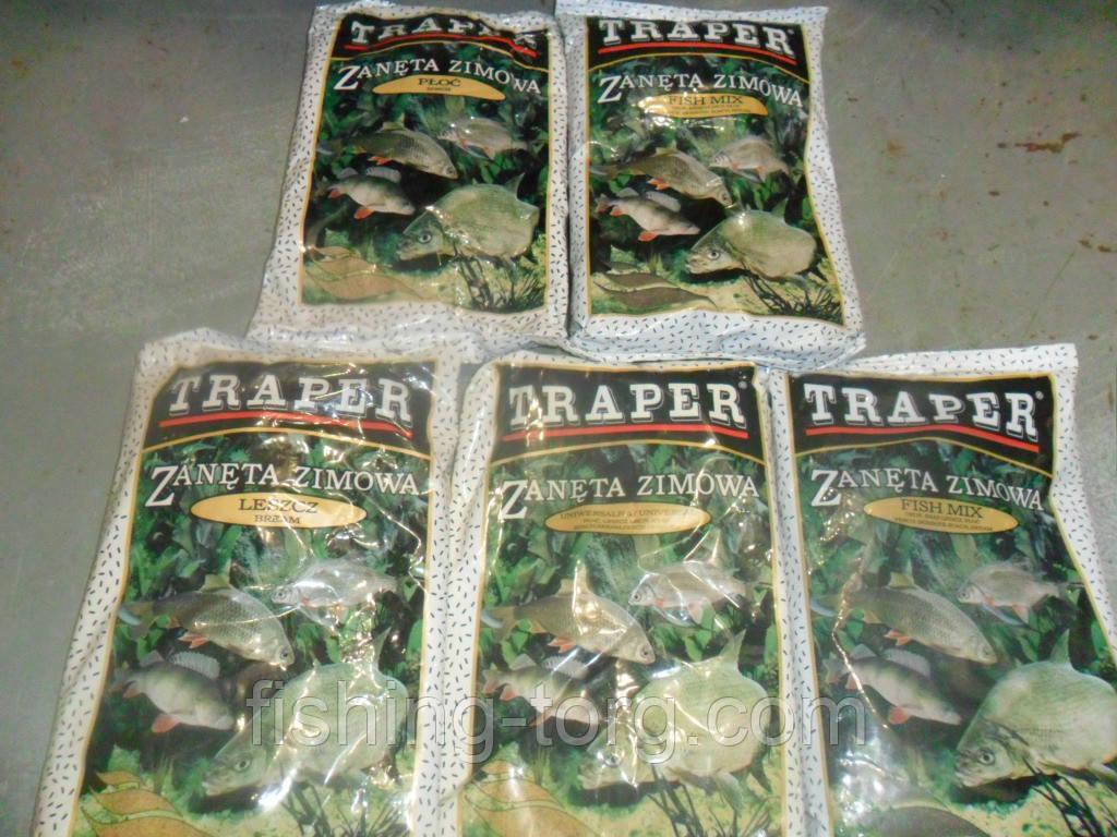 Прикормки трапер разных видов